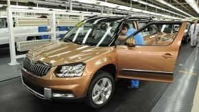 Škoda investuje v Číně 2 miliardy eur