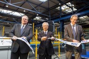 AGC launches production of glass on reconstructed R1 line