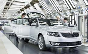 Škoda v červnu vyrobila skoro 100 tisíc aut