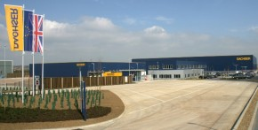 Dachser otevřel logistické centrum v Northamptonu