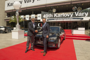 BMW fleet served film festival in Karlovy Vary