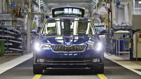 Skoda has manufactured 750,000 Superb cars
