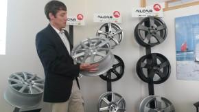 Alcar Bohemia předvedl nové designy litých kol