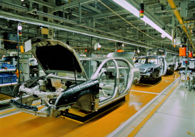 Automotive production continues to shift gear away from Western Europe