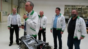 Skoda presented it's high-tech factory in Vrchlabi
