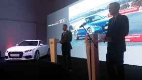 Audi launched new sport models in Prague's Manes Gallery