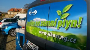 Czech media tested CNG cars in Prague