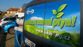 CNG pohon je k dispozici ve většině tříd
