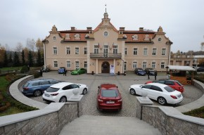 Car of the Year: test rides at Berchtold castle
