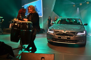 Skoda presents new Fabia and Superb in Shanghai