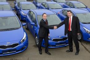 Kia delivers a big fleet to Czech Post