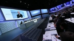 Winterkorn bilancoval výsledky VW v Berlíně