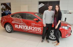 Mazda partnerem závodů RunTour 2015