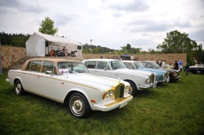 Vintage limousines rallied in Prague