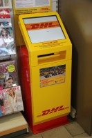 Ze stanic Shell lze posílat zásilky DHL