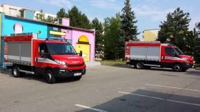 První hasičské vozy na CNG má Kraj Vysočina