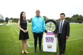 Nexen Tire sponsores Manchester City