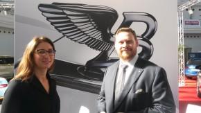 Bentley v Praze ukázalo rychlé SUV Bentayga