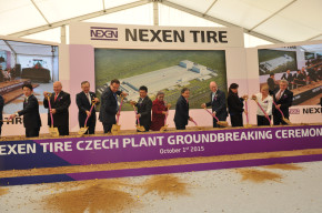 Nexen: groundbreaking ceremony in Zatec