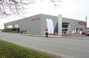 Auto Jarov opens the biggest Audi terminal in the CR