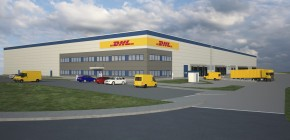DHL moves to Panattoni Park Cheb
