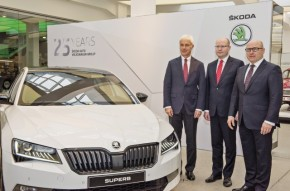 Škoda and VW celebrate 25-year partnership