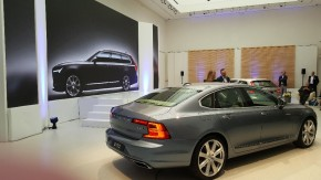 Volvo will export S90 to Europe from China