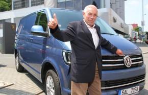 Plattner testuje spotřebu VW Transporter