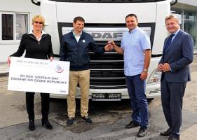DAF prodal v ČR celkem 20 000 vozidel