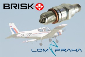 BRISK začal vyrábět svíčky do leteckých motorů