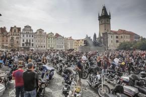 Harley-Davidson oslaví 115. výročí. v Praze