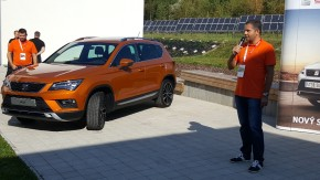 SEAT launched new Ateca in a research center