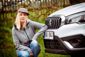 Bára Poláková osedlala Suzuki S-Cross