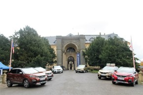 Peugeot showed the new 3008 at Zbiroh Castle