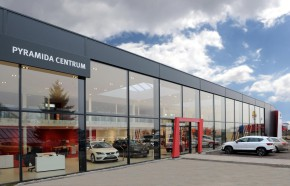 New SEAT showroom in Pruhonice
