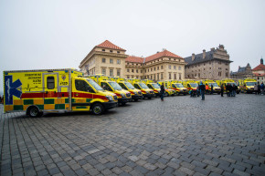 Prague Emergency buys new ambulances
