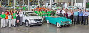 Škoda manufactures two million cars at Kvasiny