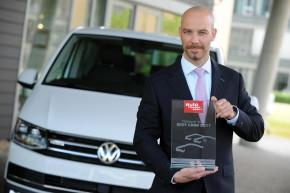 Šebesta převzal cenu Best Cars pro VW Multivan