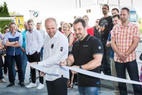 Nový showroom BMW Motorrad ve Varech
