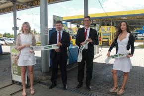 Bonett opened a CNG filler in Čestlice