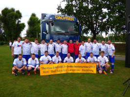 Dachser pořádal firemní fotbalový turnaj