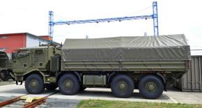 Tatra získala zakázku pro jordánskou armádu