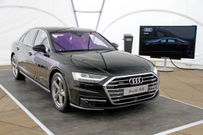 Audi presented new A8 in Podebrady