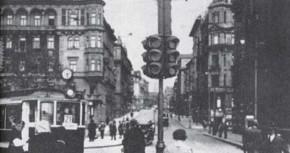 HISTORIE: 1. semafor v Praze před 90 lety