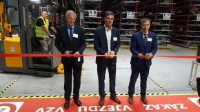 Continental otevřel v Brandýse nový sklad