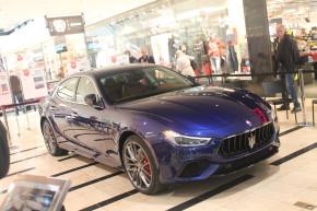 Maserati Ghibli MY18 se blýsklo v Arkádách