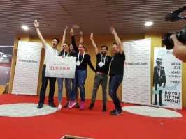 UniCredit vyhlásila vítěze Hackathonu