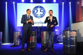 Servind slavil čtvrtstoletí na českém trhu