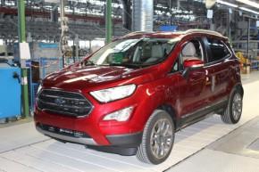 Ford v Craiově zahájil výrobu SUV EcoSport