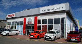 Autobond opens Toyota showroom in Ostrava
